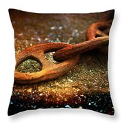 Obsolete But Strong Throw Pillow