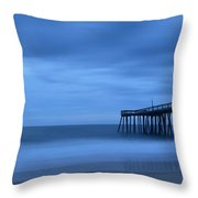 Ocean City Pier 2 Throw Pillow