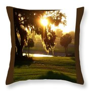 Ocala Sunset Throw Pillow