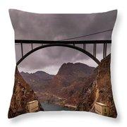 O'callaghan-pat Tillman Memorial Bridge Throw Pillow