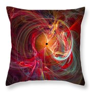 Occular Orgasm - Cats Eye Throw Pillow
