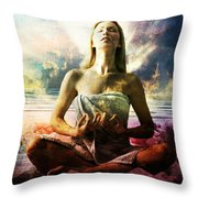 Occult Throw Pillow