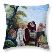 Occurrence Of Perormers  No.  One Throw Pillow