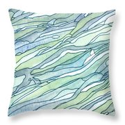 Ocean 1 Throw Pillow