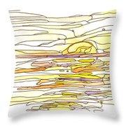 Ocean 12 Throw Pillow