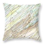 Ocean 5 Throw Pillow