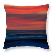 Ocean-803 Throw Pillow