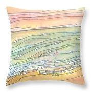 Ocean 9 Throw Pillow