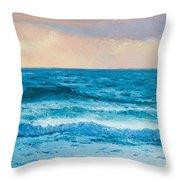 Ocean Art 1 Throw Pillow