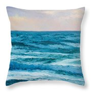Ocean Art 2 Throw Pillow