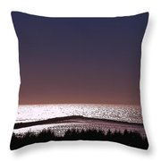 Ocean At Dusk Throw Pillow