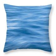 Ocean Blur Throw Pillow