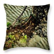 Ocean Bouquet Throw Pillow
