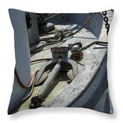 Ocean Bow Throw Pillow