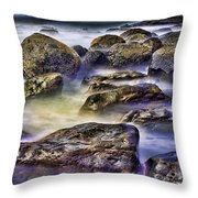 Ocean Break Throw Pillow