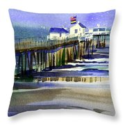 Ocean City Fishing Club Throw Pillow