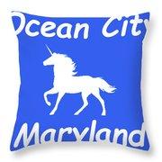 Ocean City Md Throw Pillow