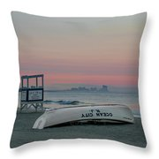 Ocean City Mornings Throw Pillow