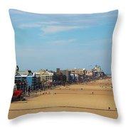 Ocean City Throw Pillow