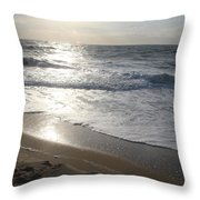 Ocean City  Throw Pillow