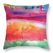 Ocean Deep Throw Pillow