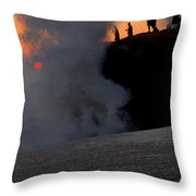 Ocean Fishing For Man Throw Pillow