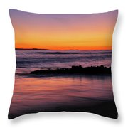 Ocean In Motion Throw Pillow