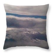 Ocean In The Sky Throw Pillow