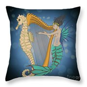 Ocean Lullaby3 Throw Pillow