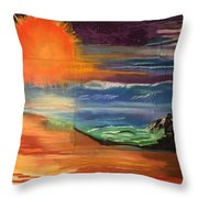 Ocean Magic  Throw Pillow