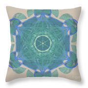 Ocean Metatron Throw Pillow