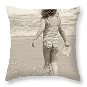 Ocean Moment Throw Pillow