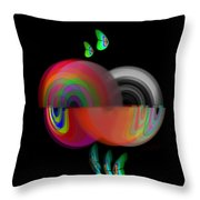 Ocean Motion Throw Pillow