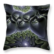 Ocean Mystery Throw Pillow