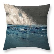 Ocean Night's Song Throw Pillow