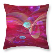 Ocean Of Sweet Wishes Throw Pillow