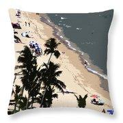 Ocean Paradise Throw Pillow