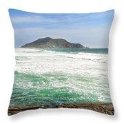 Ocean Relax Throw Pillow