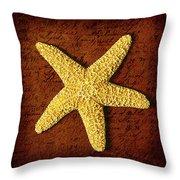 Ocean Relic Throw Pillow