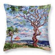 Ocean Ridge 2017 Throw Pillow