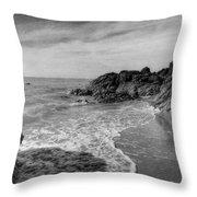 Ocean Rush Throw Pillow