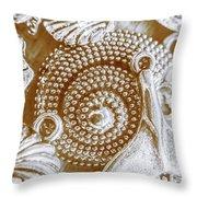 Ocean Sea Abstract Throw Pillow