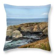 Ocean Sentinel 3 Throw Pillow