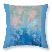 Ocean Series Xxvii Throw Pillow