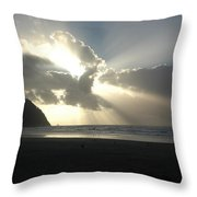 Ocean Sky Throw Pillow