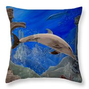 Ocean Splendor Throw Pillow