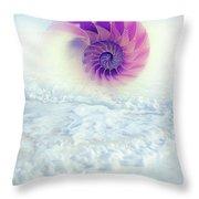 Ocean To Infinity Throw Pillow