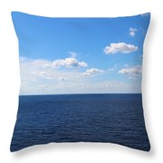 Ocean Tranquility  Throw Pillow