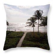 Ocean View 2007 Throw Pillow