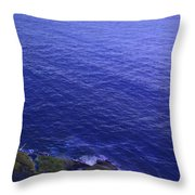 Ocean View From North Head Throw Pillow